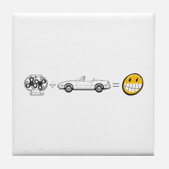 Supercharger fun Tile Coaster