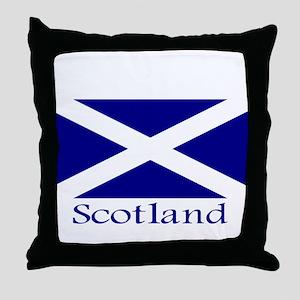 """""""Scotland"""" Throw Pillow"""