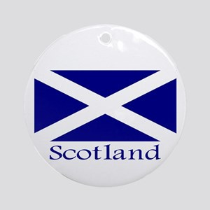 """Scotland"" Ornament (Round)"