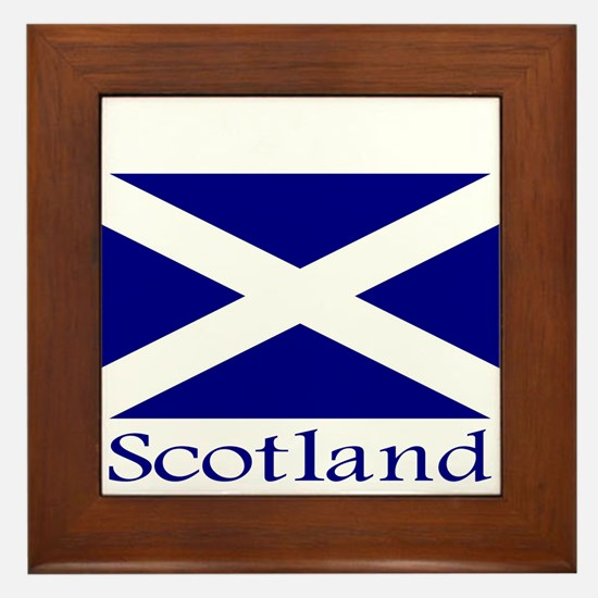 """Scotland"" Framed Tile"