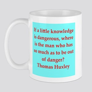 Thomas Huxley quotes Mug