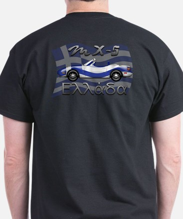Miata MX-5 Greece T-Shirt