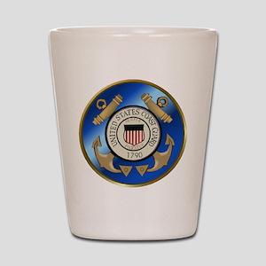 Vintage Coast Guard Shot Glass
