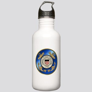 Vintage Coast Guard Stainless Water Bottle 1.0L