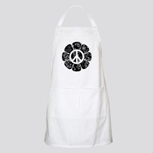 Peace Symbol Flower Apron