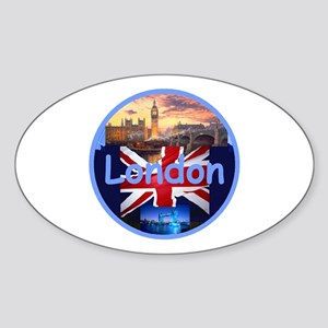 LONDON Sticker (Oval)