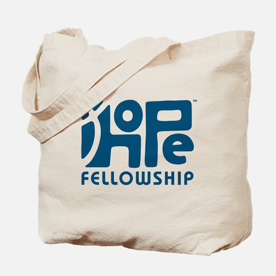 Hope Fellowship Logo Blue Tote Bag