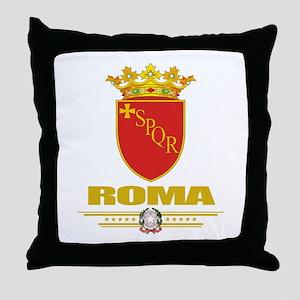 Roma COA Throw Pillow
