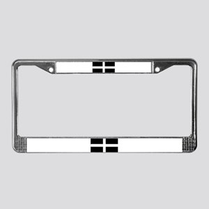 Cornish flag License Plate Frame