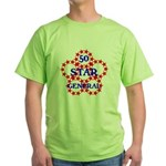 FIFTY STAR GENERAL Green T-Shirt