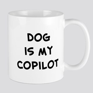 dog is my copilot Mug