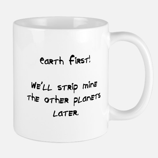 strip mine planets Mug