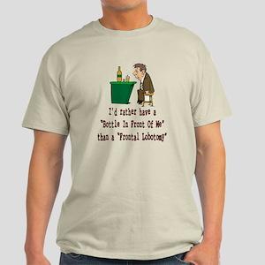 Frontal Lobotomy Light T-Shirt