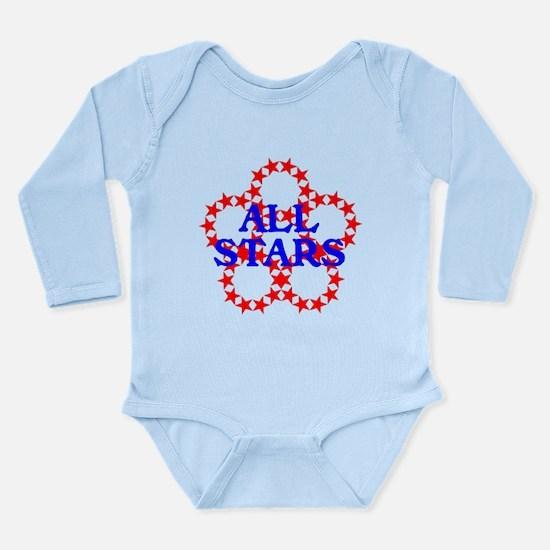 ALL STARS Long Sleeve Infant Bodysuit