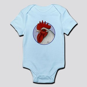 Orpington Rooster Circle Infant Bodysuit