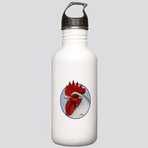 Orpington Rooster Circle Stainless Water Bottle 1.