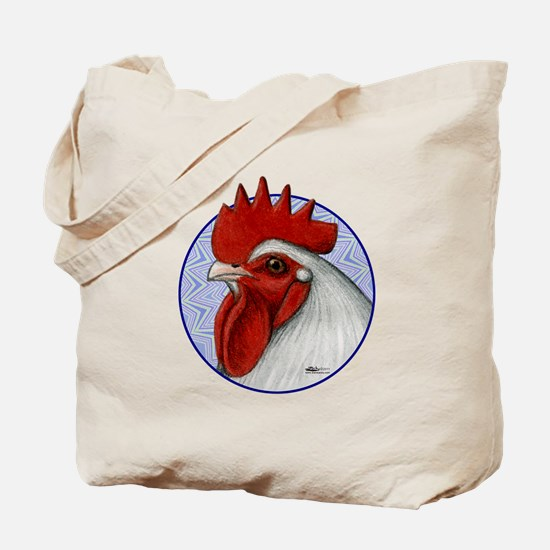 Orpington Rooster Circle Tote Bag