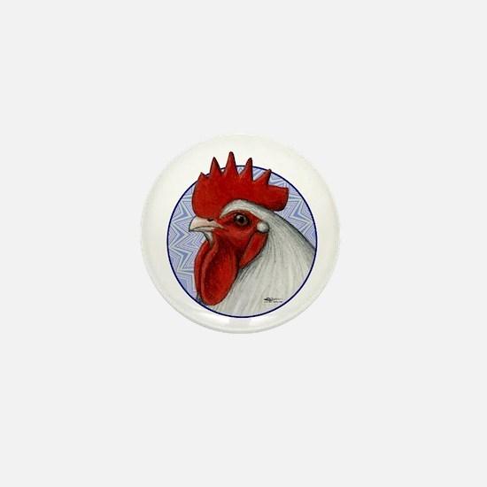 Orpington Rooster Circle Mini Button