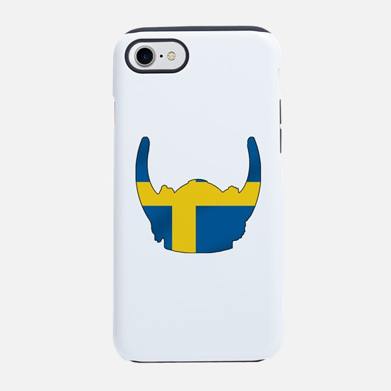 Swedish Viking Helmet iPhone 7 Tough Case
