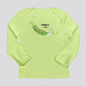 Sweet Pea Long Sleeve Infant T-Shirt