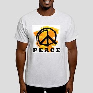Peace Orange Light T-Shirt