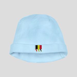 Belgium Soccer baby hat