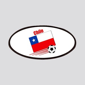 Chile Soccer Team Patches