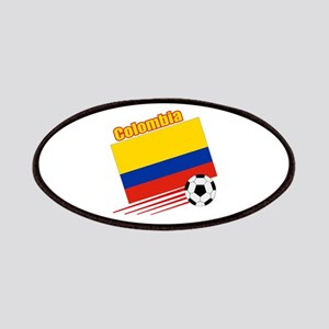 Colombia Soccer Team Patches