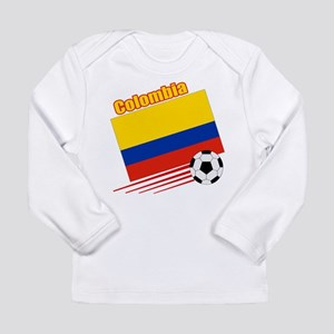 Colombia Soccer Team Long Sleeve Infant T-Shirt