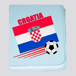 Croatia Soccer Team baby blanket