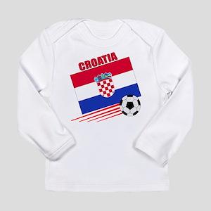 Croatia Soccer Team Long Sleeve Infant T-Shirt
