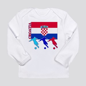 Croatia Soccer Long Sleeve Infant T-Shirt