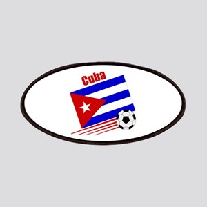 Cuba Soccer Team Patches