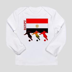 Egypt Soccer Long Sleeve Infant T-Shirt