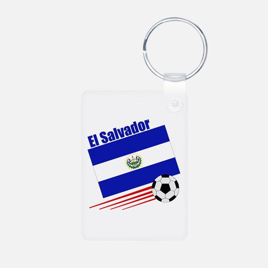 El Salvador Soccer Team Keychains