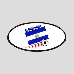 El Salvador Soccer Team Patches