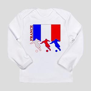 Soccer France Long Sleeve Infant T-Shirt