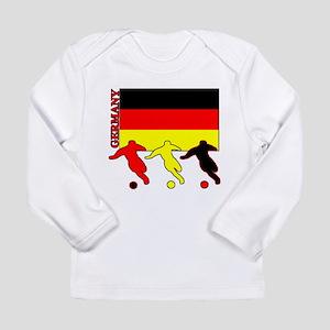Germany Soccer Long Sleeve Infant T-Shirt