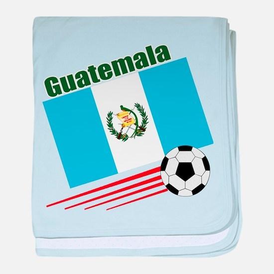Guatemala Soccer Team baby blanket