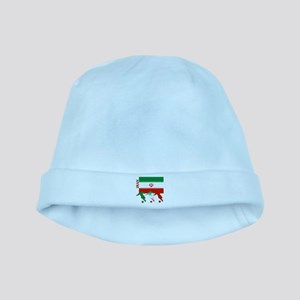 Iran Soccer baby hat