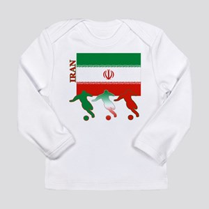 Iran Soccer Long Sleeve Infant T-Shirt