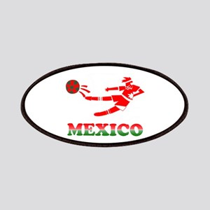 Mexican Soccer Player Patches