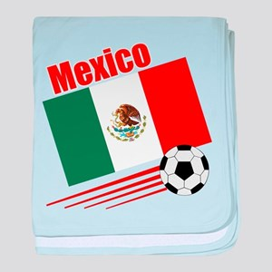 Mexico Soccer Team baby blanket