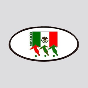 Soccer Mexico Patches