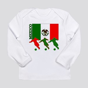 Soccer Mexico Long Sleeve Infant T-Shirt