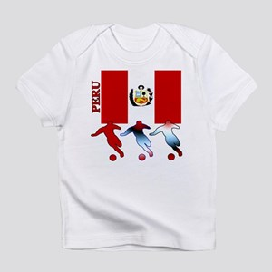 Peru Soccer Infant T-Shirt