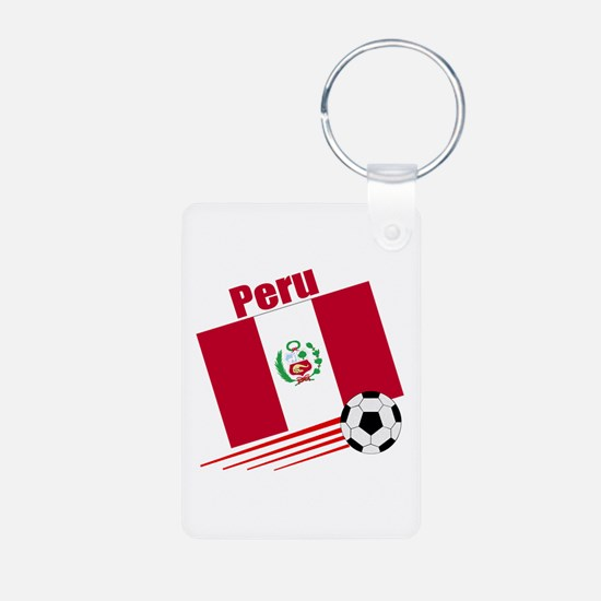 Peru Soccer Team Keychains