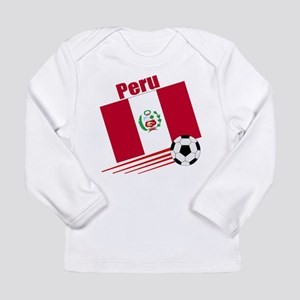 Peru Soccer Team Long Sleeve Infant T-Shirt