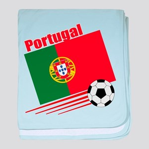 Portugal Soccer Team baby blanket