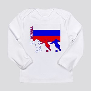 Russia Soccer Long Sleeve Infant T-Shirt
